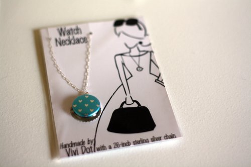 Vivi Dot Watch Necklace