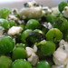 Peas, broad beans and feta