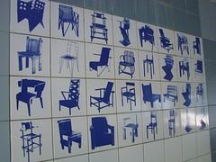 De Stijl (indigo_jones) Tags: road blue white holland netherlands modern underpass tile design utrecht blauw chairs decorative nederland wit rietveld destijl gerritrietveld stoelen prinshendriklaan rietveldschrderhouse rietveldschrderhuis sittinginblue