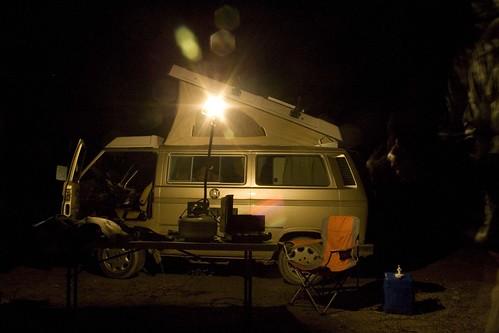 van-tent-installed