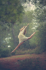 Forest Nymph (Orestis Charalambous) Tags: portrait ballerina ambientlight dancer antigoni outdoorportrait greekmodel