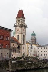 Passau, Bavaria, Germany (EJK41) Tags: germany deutschland bavaria rathaus allemagne passau niederbayern lowerbavaria alamania cityofthreerivers dreiflussestadt