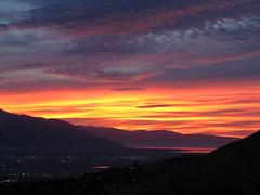SUNSET (Aquila-chrysaetos) Tags: light sunset sky urban landscape landscapes utah saltlakecity greatsaltlake vistas celestial