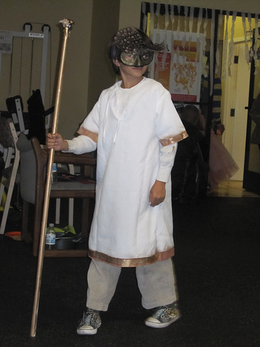Milo as the God Horus