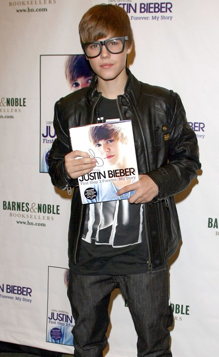 #5978714 Justin Bieber signs copies of his just released book, Justin Bieber: First Step 2 Forever: My Story,  Held at the Barnes and Noble Book Store at The Grove, in Los Angeles, California in October 31st, 2010..Justin Bieber.. Fame Pictures, Inc - San