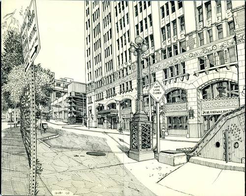 navarro street panorama