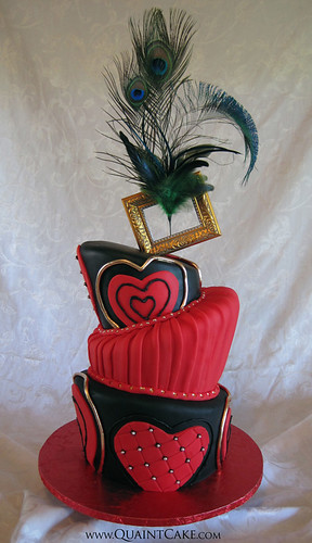 Moulin Rouge Sweet 16 Cake
