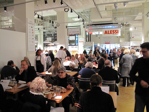 Dining area at Eataly - NYC