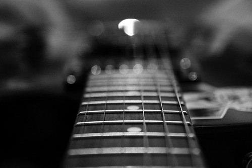 My Guitar in Black & White