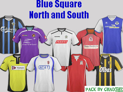 FM 2011 Team Kits - Blue Square North and South Kits