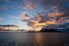Lofoten's Dramatic Sky (Fab Boone Photo) Tags: sunset sky lofoten ferry water sea fabienboone fabboone