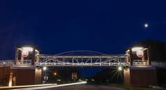 South Carolina State University: Pedestrian Overpass (MBShuler) Tags: scsu southcarolinastateuniversity scsubulldogs orangeburgsc pedestrianbridge pedestrianwalkway