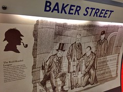 Baker Street (brimidooley) Tags: london england uk sherlock citybreak city travel tfl station greatbritain britain gb europe unitedkingdom londra londres ロンドン 런던