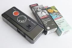 Vintage / Ritsch Ratsch Klick / Agfa Optima 5000 von 1974 / 110 Pocket  Film (rainer.marx) Tags: agfa optima 5000 110film analog pocket ritsch ratsch 625g queckie solinar vintage film