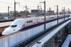 Joetsu Shinkansen E4 series 001 (A.S. Kevin N.V.M.M. Chung) Tags: train rail japan omiya jr shinkansen highspeedrailway