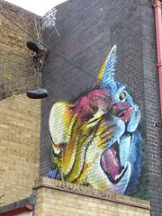 Irony graffiti (duncan) Tags: graffiti cat irony