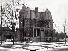 C. W. Moore (southofbloor) Tags: park house architecture lost detroit ruin brush empire villa second mansion destroyed demolished ruined mansard