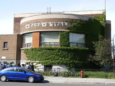 Casa d'Italia, Montreal