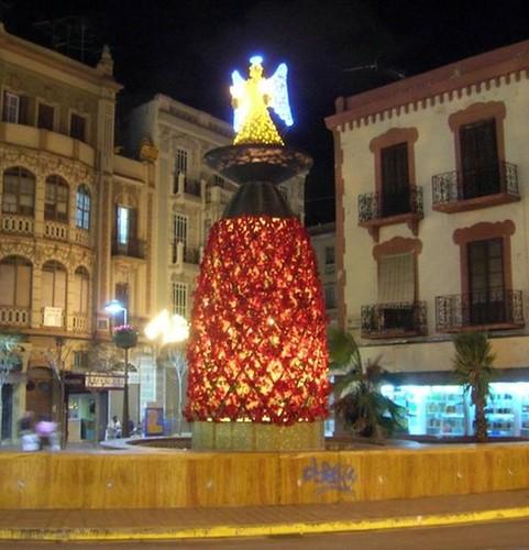 iluminación Plaza Comandante Benítez (Trainspotting)