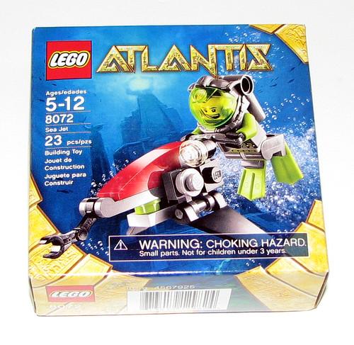 2010 LEGO Atlantis 8072 - Sea Jet