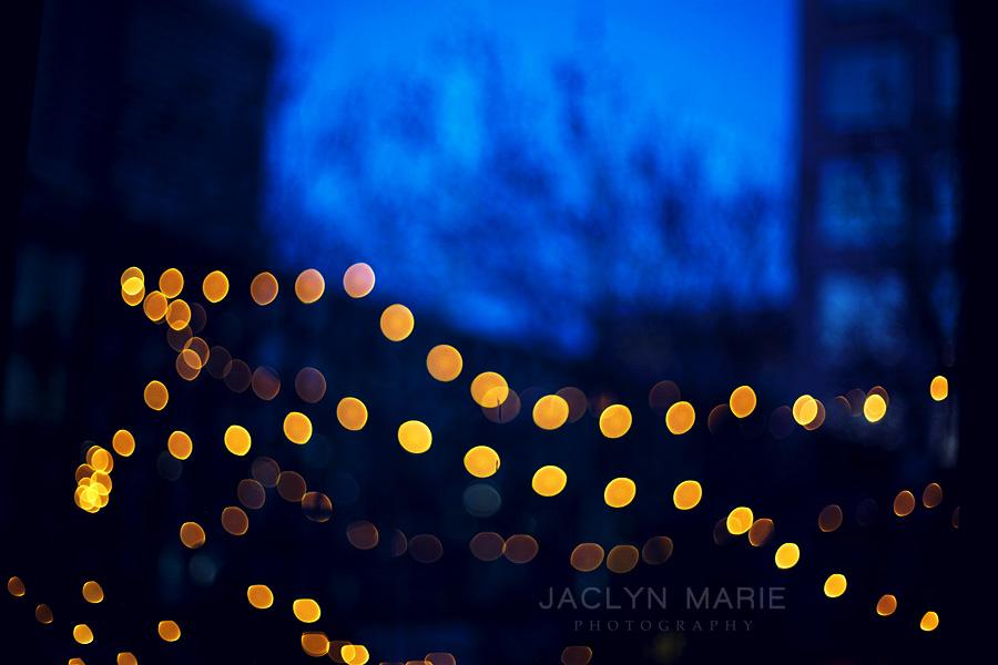 Photo of Christmas lights in Kansas City