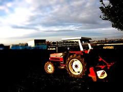 トラクター、労働量の投入