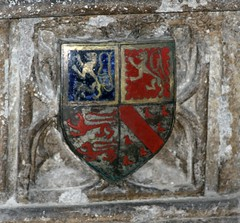 St Mary, Warwick (beery) Tags: monument heraldry arms tomb stmary warwick warwickshire collegiatechurch beauchampchapel richardbeauchamp johntalbot
