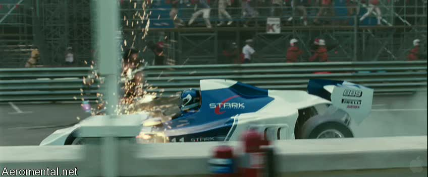 Iron Man 2 Trailer 2 Whiplash slicing the car