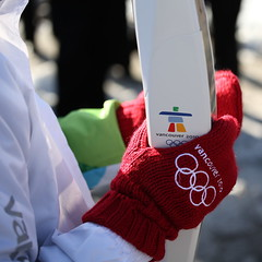 Olympic Torch relay/ Credit: Flickr user jp1958