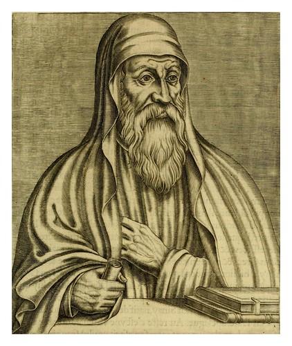 001-Origenes de Alejandria-Les vrais pourtraits et vies des hommes illustres grecz, latins et payens 1584-André Thevet