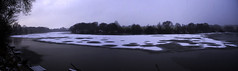 carr mill winter panorama (DSLR Lee) Tags: winter lake snow cold ice river frozen pond stream dam waterside sthelens sleet carrmill carrmilldam