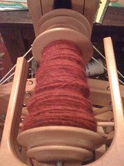 Red rhinebeck mother fiber