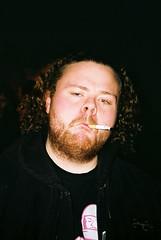 (magginoem) Tags: portrait film iceland cigarette smoke smoking 101 reykjavk
