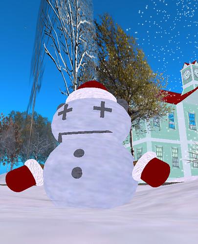 YDRM_Free! tiny snowman