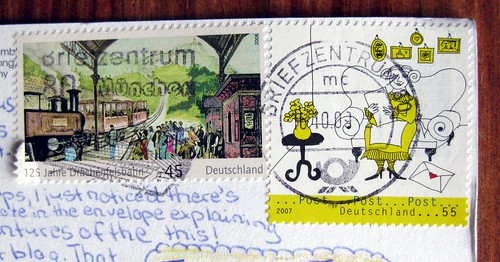 Excellent German stamps