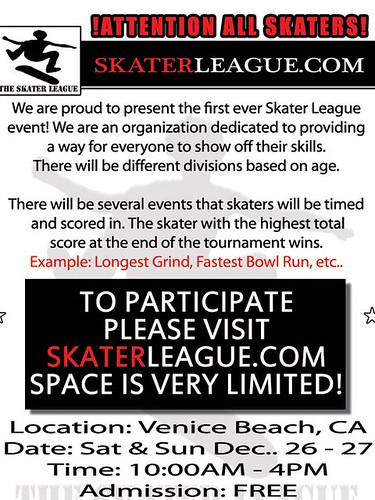 Skater League Venice Beach