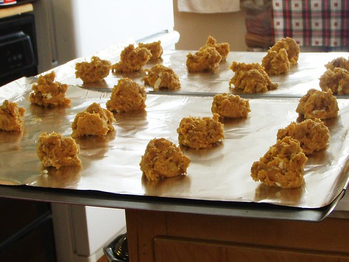 pumpkin walnut cookies - 05