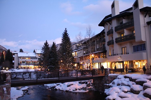 Vail Village- Gore Creek