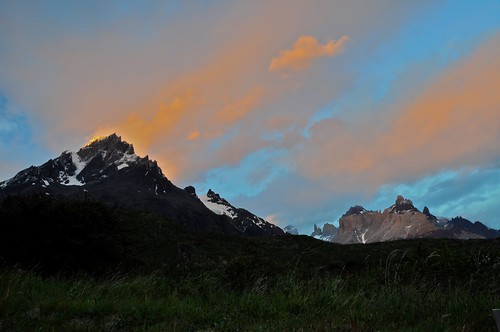 Chilean Patagonia Sunset