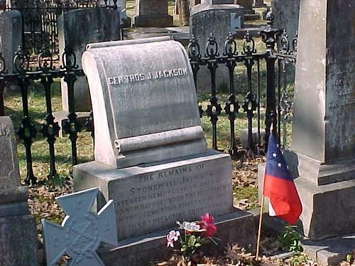 Stonewall Jackson Gravestone