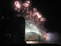 Sydney Harbour Bridge Fireworks