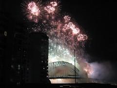 Sydney Harbour Bridge Fireworks