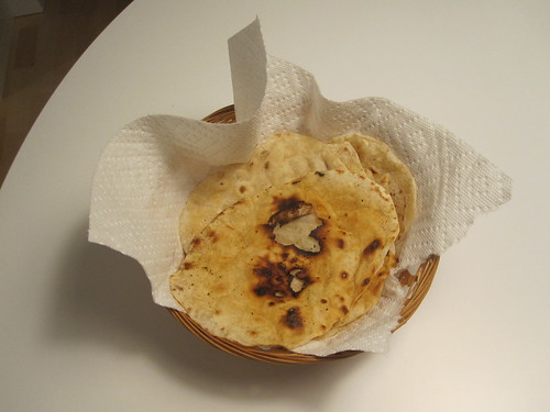 My first homemade tortillas came out great