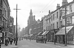 Fishergate, Preston No. 24 (Preston Digital Archive) Tags: old england vintage image compton rubber lancashire tavern preston borough past palatine tokio aeshaw
