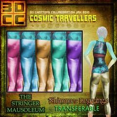 3DCC-The Stringer Mausoleum-Shimmer Leggings
