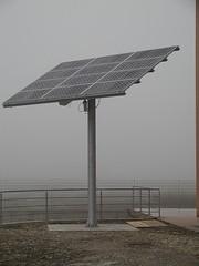 Impianto inseguitore fotovoltaico