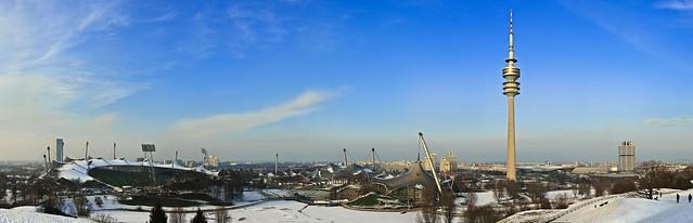Munich Olympia Panorama