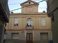 Jesús: façana de l'antic hospital de la Creu