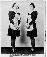 Low Cost Twin Servants (deatonstreet) Tags: portrait electric kentucky twin gas company louisville servants