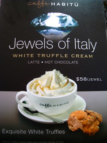 Caffe Habitu - Jewels of Italy, White Truffle Cream Latte